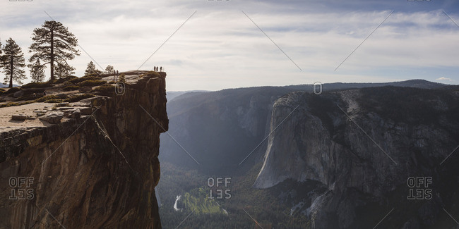 Taft point, Yosemite National Park, California, USA