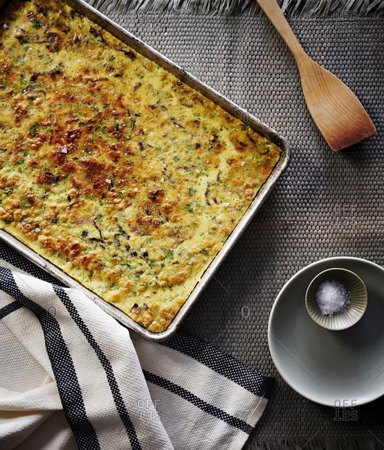 Frittata in Sheet Pan