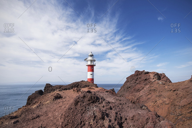 Spain- Tenerife- Punta de Teno Lighthouse