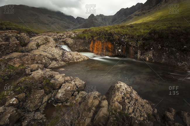UK- Scotland- Isle of Skye- Fairy Pools
