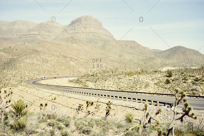 Pierce Ferry Road, en route to Grand Canyon West , Arizona, USA