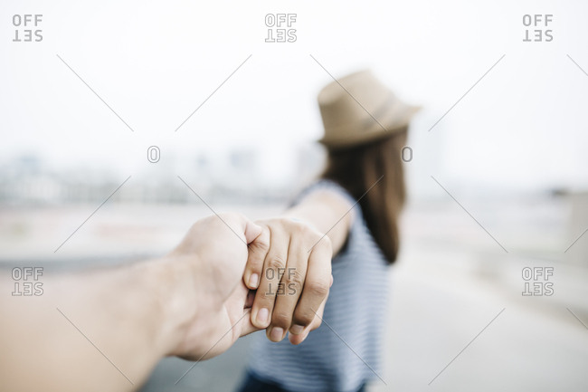 Holding hands- close-up