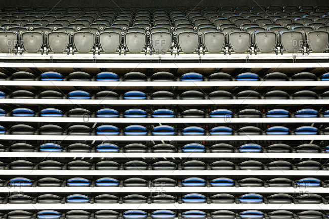 Symmetric seats in multi arena or concert hall