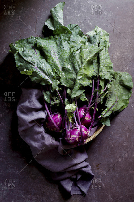 Kohlrabi photo from the Offset Collection