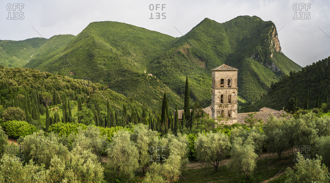 San Pietro in Valle Abbey and luxury residence