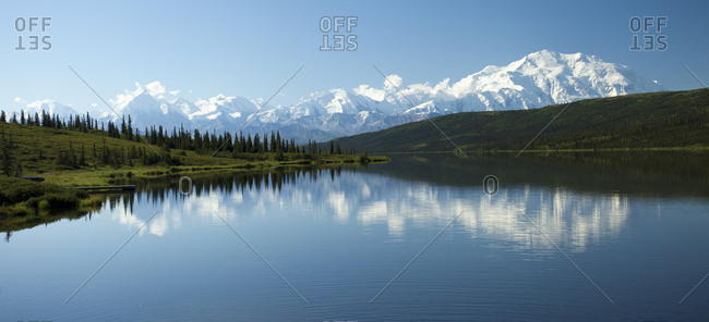 Panoramic view of Denali National Park