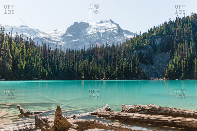 Joffre Lakes Provincial Park in British Columbia, Canada