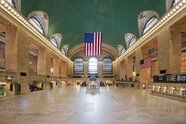 New York, NY, USA - March 15, 2009: Grand Central Station interior, New York City, New York, USA