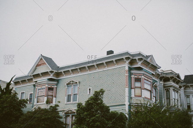 Row of homes in San Francisco