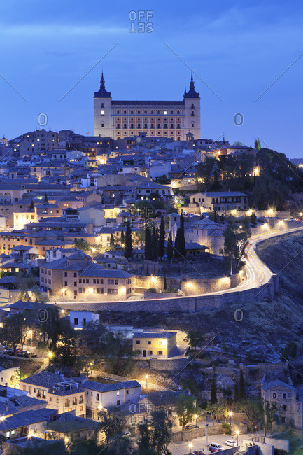 Alcazar, UNESCO World Heritage Site, Toledo, Castilla-La Mancha, Spain, Europe