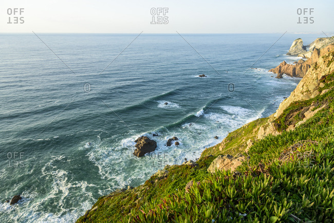Cabo da Roca, the most westerly point of mainland Europe in Portugal