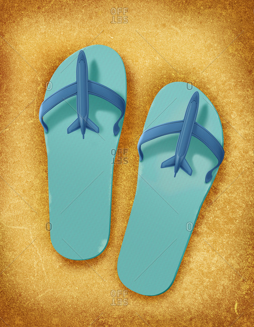 Illustration of sandals