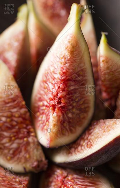 Figs macro shot