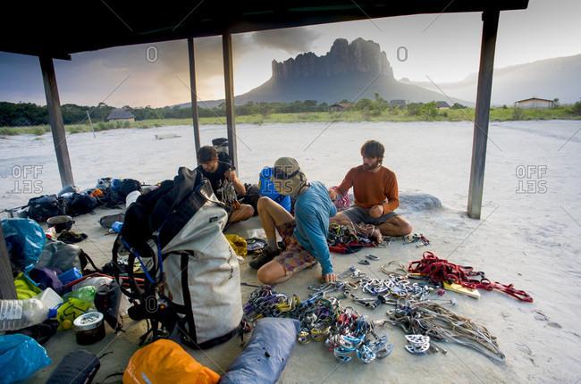 February 5, 2012: Climbing Gear Preparation, Bolivar State, Venezuela