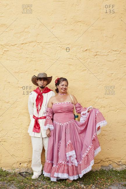 Miami, Florida - February 25, 2011: Mother in son in costume