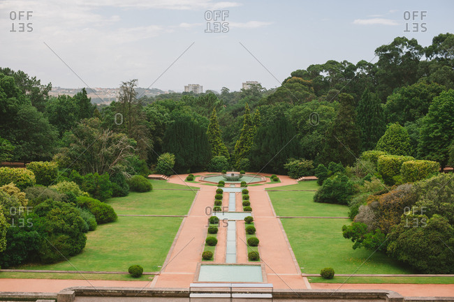Serralves Foundation grounds in Porto, Portugal