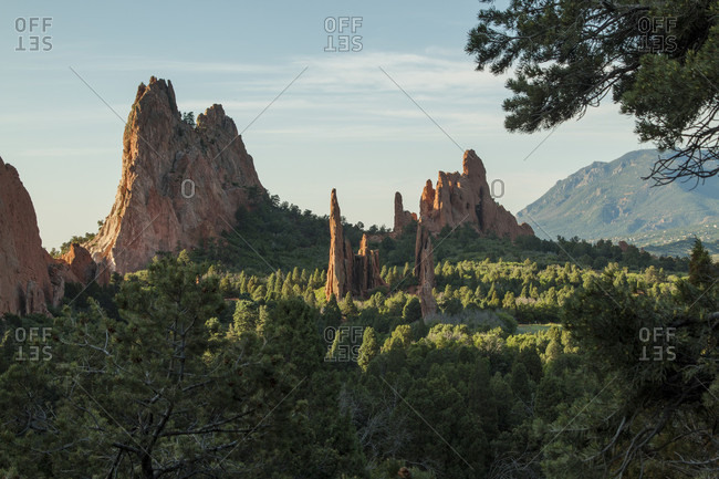 Garden of the Gods in Colorado Springs, Colorado is a National Natural Landmark.