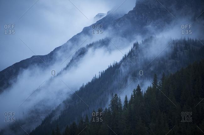 Scenes from Two Jack Lake, Banff, Alberta, Canada