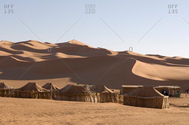 May 11, 2007: Tented camp, Erg Awbari, Sahara desert, Fezzan, Libya