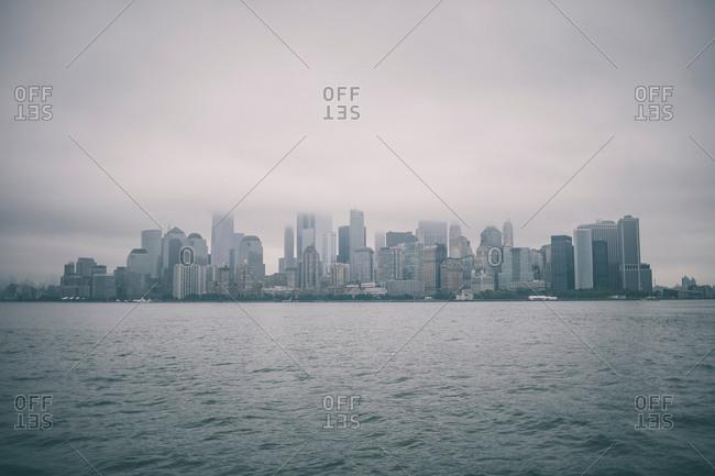 June 17, 2017: City skyline, New York, USA