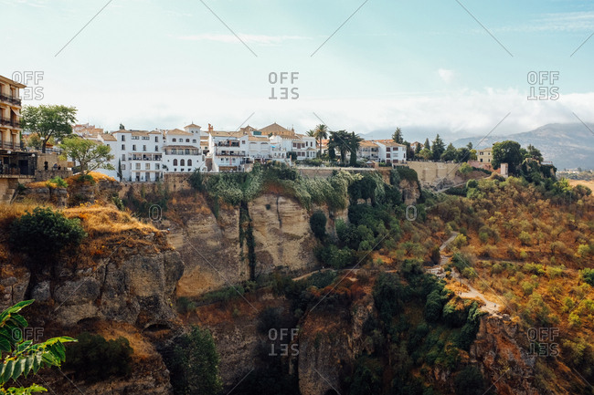 City of Ronda over El Tajo Canyon
