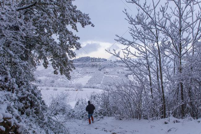 Snow at Lucardo