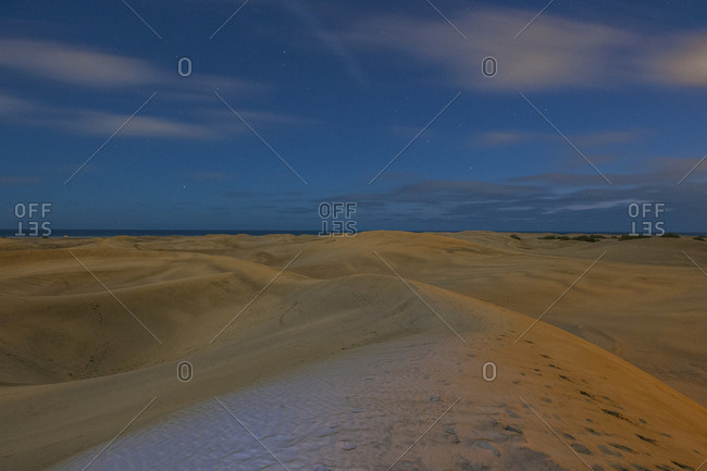 The famous sand dunes