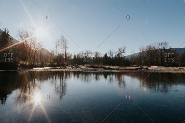 Landscape in Washington State