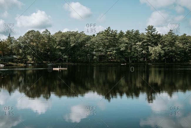 Lake in Annapolis Valley, Milford, Nova Scotia