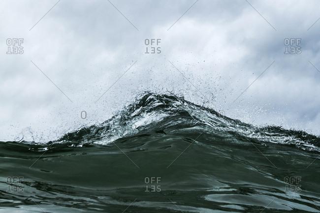 Close up of ocean water