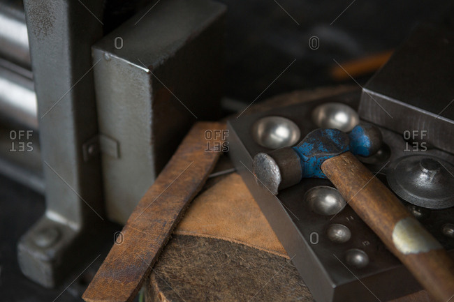 Metallic tools and equipment