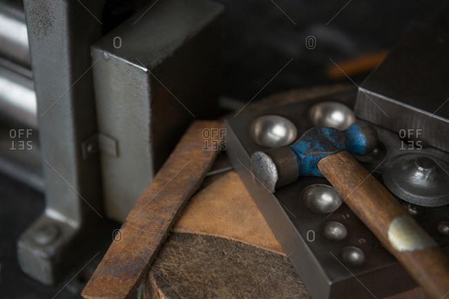 Metallic tools and equipment