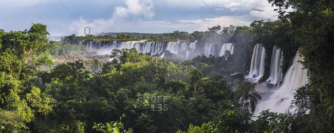 Argentina, Misiones, Puerto Iguazu, Iguazu National Park, Iguassu Falls, Cataratas del Iguazu, Iguazu Falls