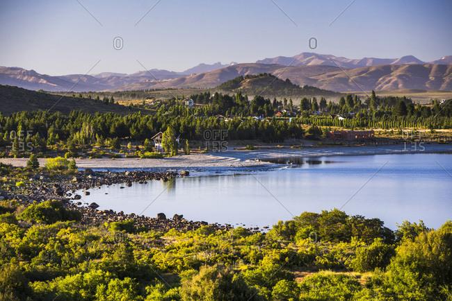 Argentina, Rio Negro, San Carlos de Bariloche, Lago Nahuel Huapi (Nahuel Huapi Lake), San Carlos de Bariloche, Rio Negro Province, Patagonia, Argentina