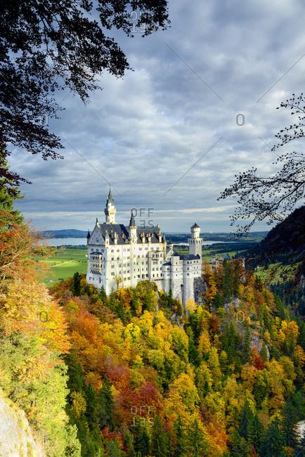 Germany, Deutschland, Bavaria, Bayern, Swabia, Schwaben, Neuschwanstein Castle, Schloss Neuschwanstein, Neuschwanstein Castle