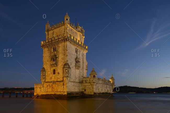 Portugal, Distrito de Lisboa, Lisbon, Belem, Belem Tower,
