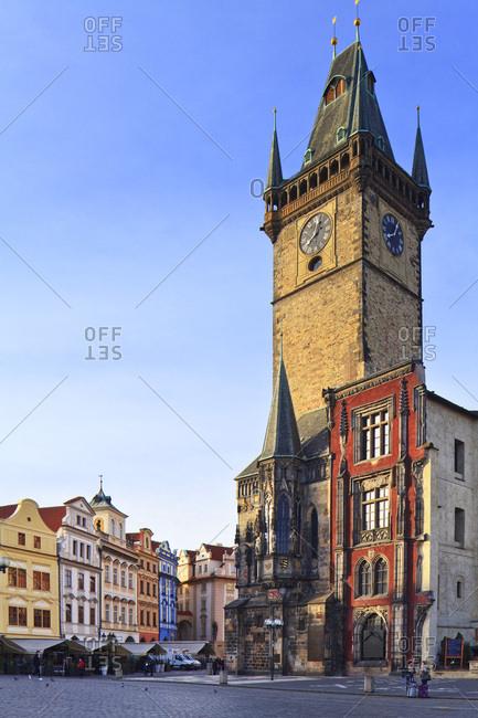 March 3, 2017: Czech Republic, Central Bohemia Region, Prague, Prague Old Town Square, Astronomical Clock, Bohemia, Checy, Astronomical clock