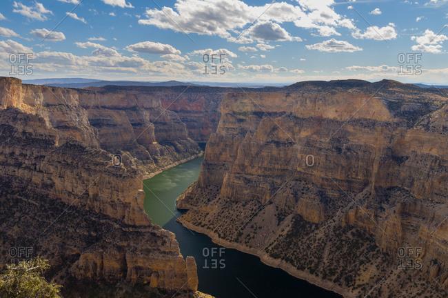 Horseshoe Bend, Bighorn Canyon National Recreation Area, Wyoming, USA