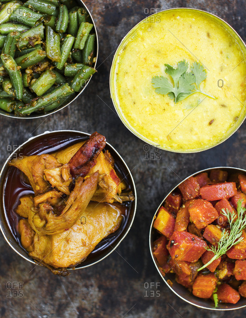 An Indian meal, Ranthambore, India
