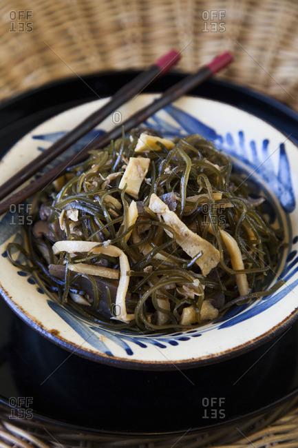 Arame kelp dish - Offset Collection