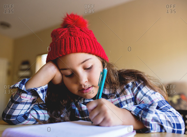 Girl writes holiday wish list