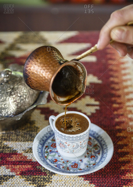 Turkish Coffee, Istanbul, Turkey