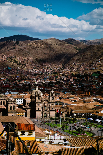 View of Cusco, Peru