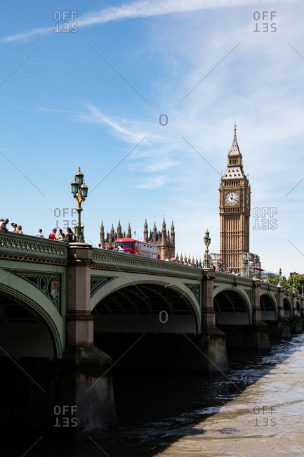 London, England, UK - July 17, 2017: Houses Of Parliament