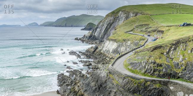 County Kerry, Munster region, Republic of Ireland - May 27, 2017: Slea Head, Dingle Peninsula