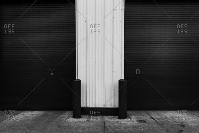 Door of a self storage unit