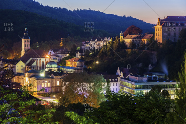 Germany, Baden-Wurttemberg, Architecture of Baden-Baden