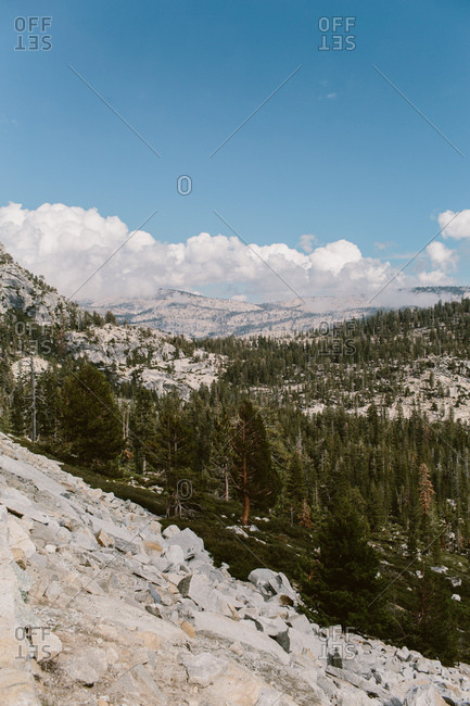 Landscape of Yosemite