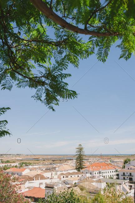 Bird's eye view of Lisbon, Portugal