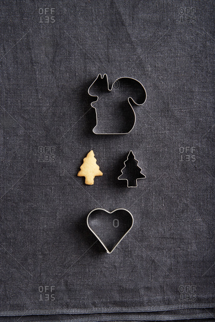 Cookie cutters, Still life Christmas